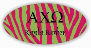 Sorority Name Tag Cute