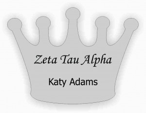 Crown Name Tag