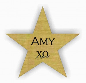star shaped custom name tag